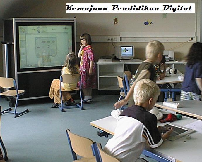 Kemajuan Pendidikan Digital